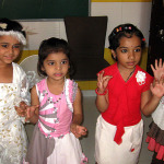 Kids Enjoying Children's Day in the class