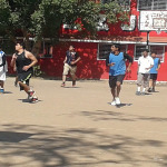 Inter stream basket ball match