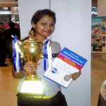 Miss Anishaa Anil Joshi - Winner International Cooking Competition