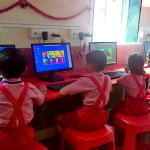 Toddlers in the Computer Lab